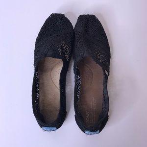 Black Toms, Size 12
